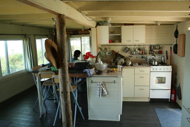 L'espace de vie intérieur de la maisonette