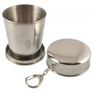 Verre pliable en inox © Sans BPA