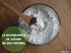 Bicarbonate- déodorant naturel- echosverts.com