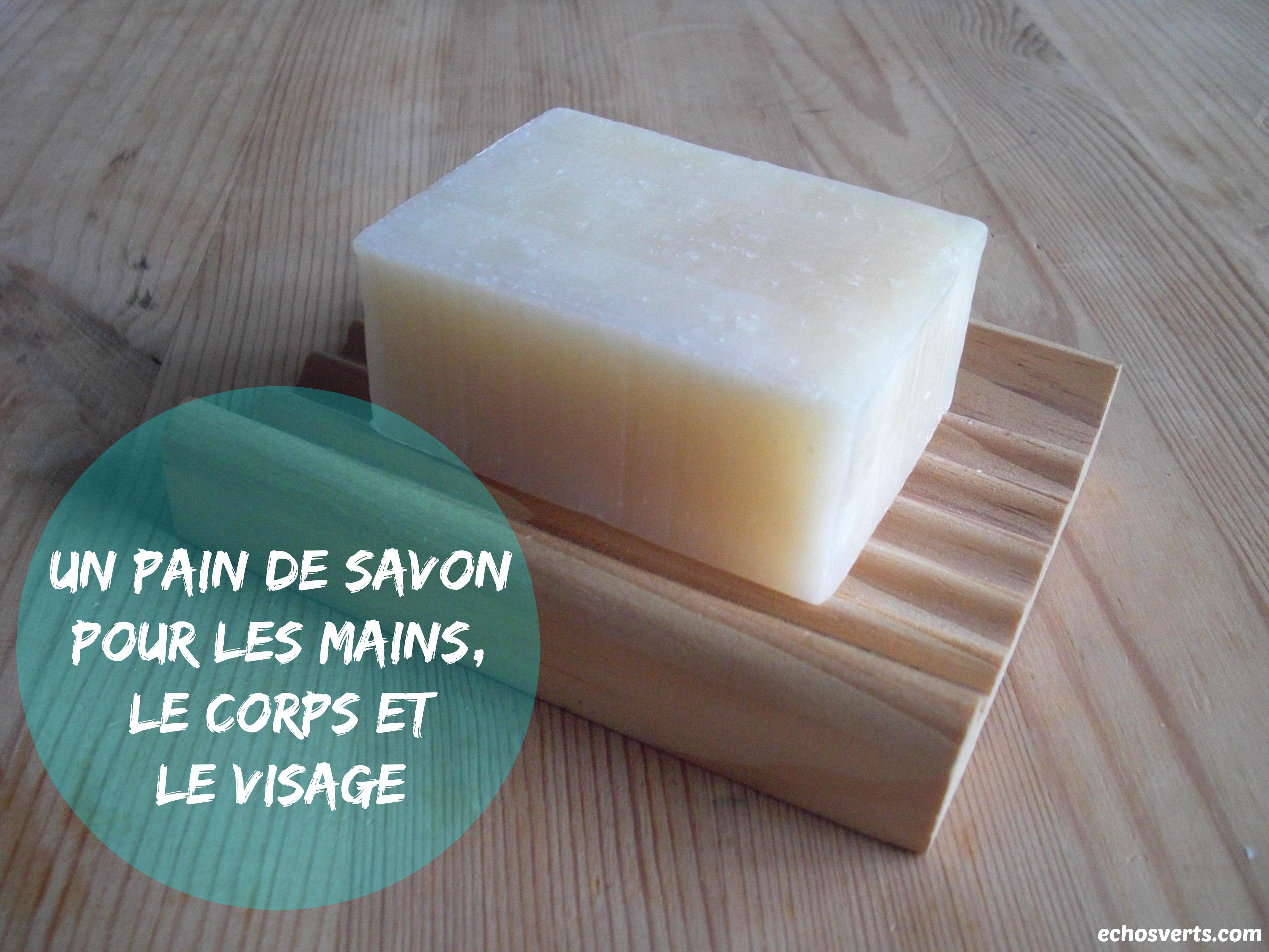Quel est le meilleur savon pour se laver? Corps et non