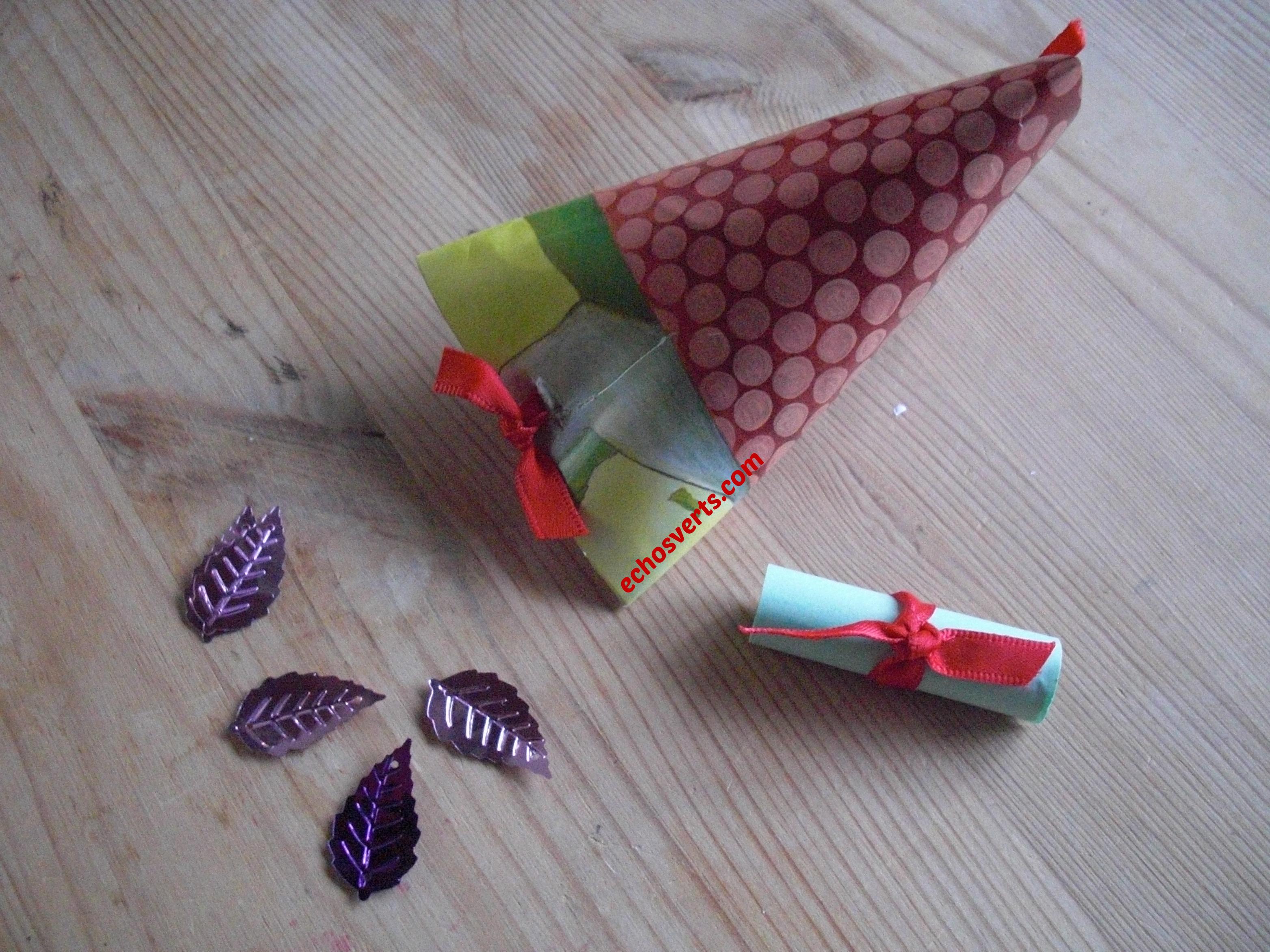 Id es d emballages 100 r cup pour remplacer le papier cadeau chos verts - Ou acheter du papier cadeau ...