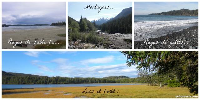 Les paysages de l'île de Vancouver- copyright- Échos verts