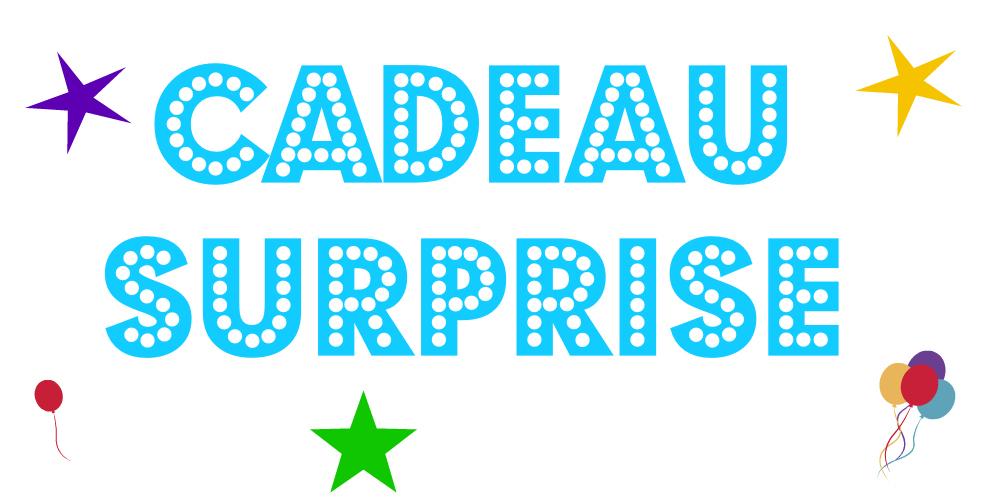 Le 1er anniversaire d chos verts a se f te avec des cadeaux chos verts - Idee cadeau surprise ...