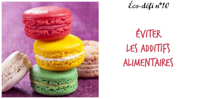 Additifs alimentaires- 10