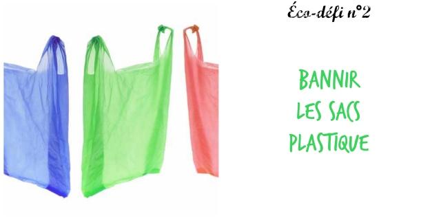 Bannir sacs plastique- 2
