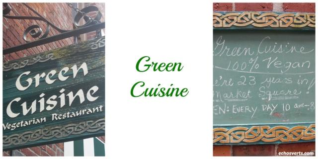 Green Cuisine- Victoria- copyright- échos verts