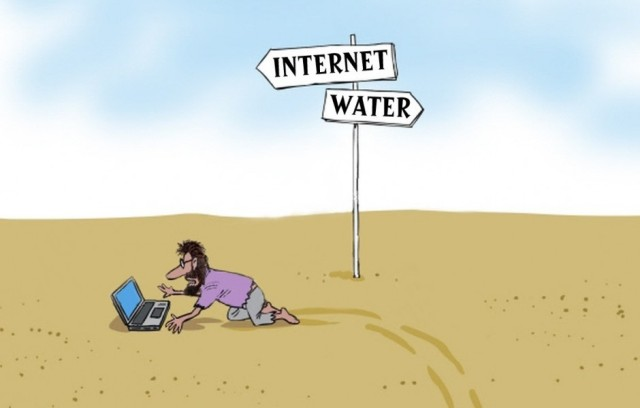 Internet or water