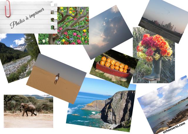 Photos de vacances à imprimer