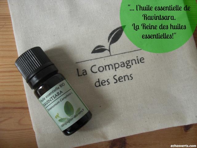 HE- Ravintsara- Compagnie des sens- échos verts