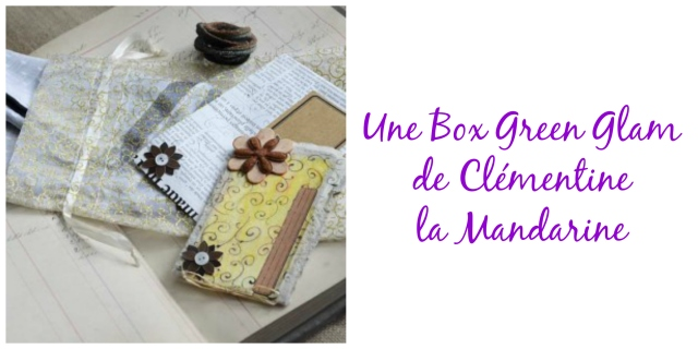 Box Green Glam- echos verts