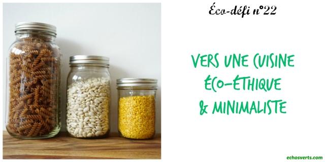 22- Vers une cuisine éco-éthique et minimaliste