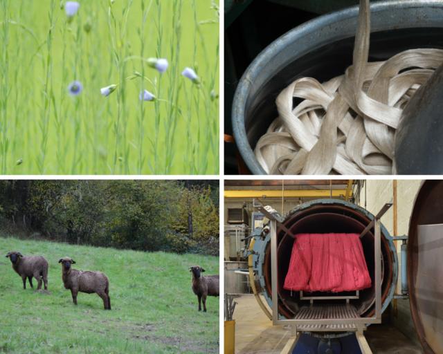 Juste la révolution textile matières premières