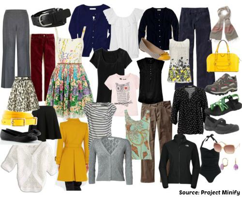 mes astuces pour une garde-robe minimaliste | Échos verts