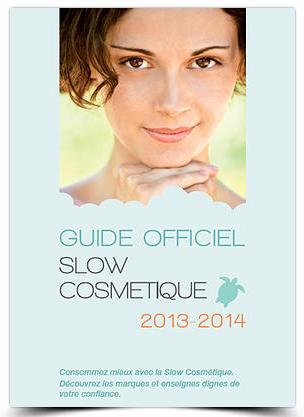 Guide officiel slow cosmétique