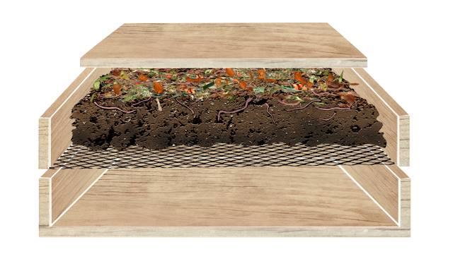 la boîte à terre : pour composter sans jardin ni balcon | Échos verts - Comment Fabriquer Un Composteur Exterieur