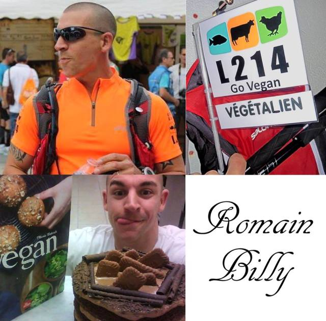 Romain billy vegan