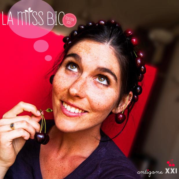 Miss Bio 2015 Finaliste Ophélie Veron Antigone XXI
