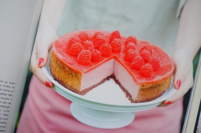 Vegan Marie Laforêt- Pink Velvet cheesecake- echosverts.com