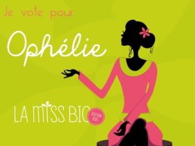 Miss Bio 2015 Ophélie Veron