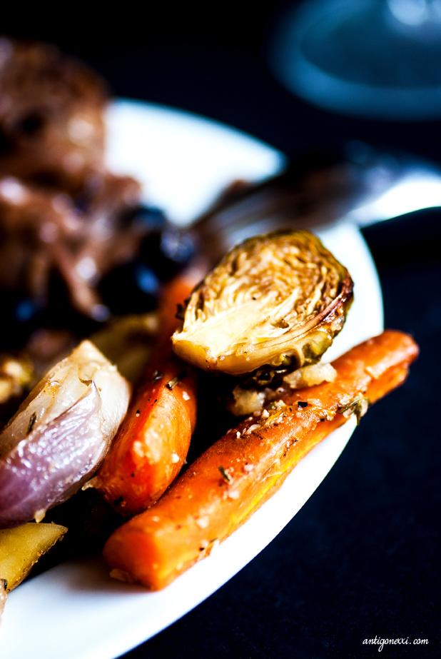 Légumes rôtis végans Antigone XXI