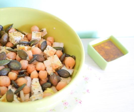 salade_endive_tofu_vegan_galas blog