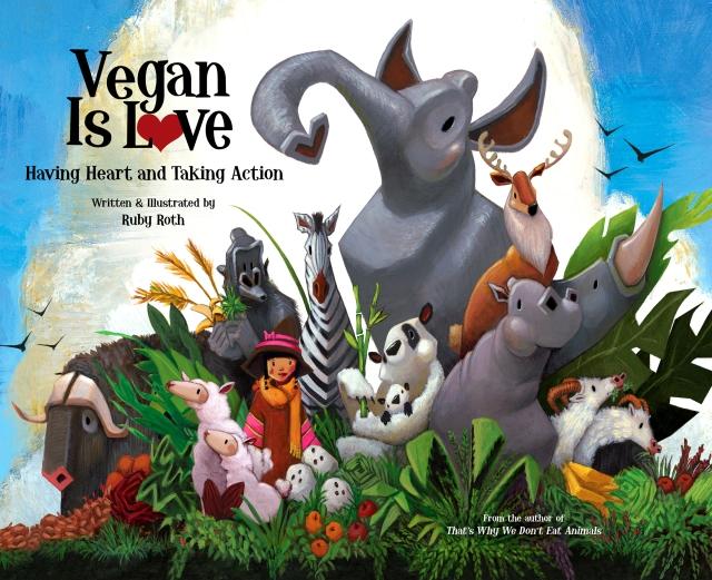 Vegan is love anglais