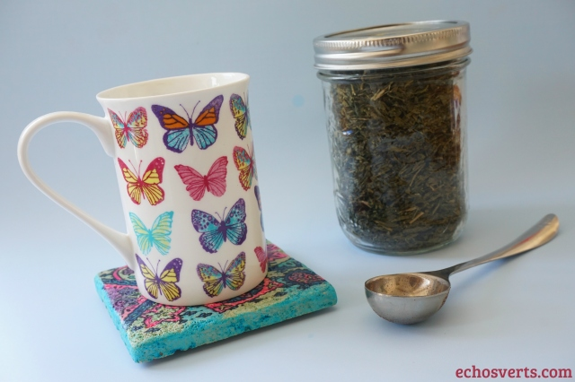 Petit déjeuner thé vert- copyright echosverts.com