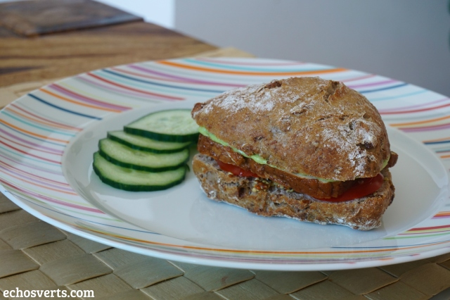 Sandwich vegan- echosverts.com