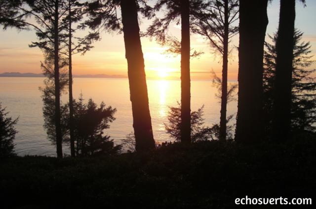coucher du soleil ile de vancouver canada echosverts.com