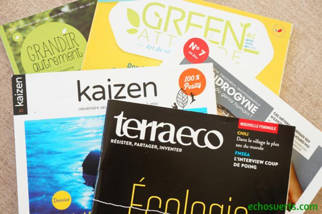 Magazines alternatifs et engagés- echosverts.com