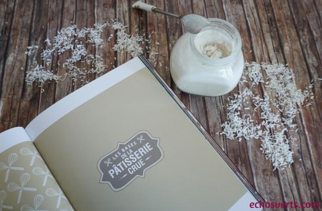 La pâtisserie crue Ophélie Véron les bases echosverts.com