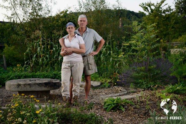 Charles et Perrine Hervé Gruyer- Bec Hellouin- Max Riché- Climate Heroes