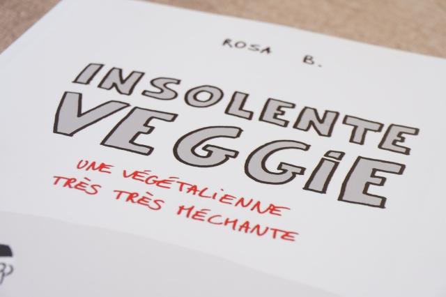 Insolente Veggie- Album- Couverture