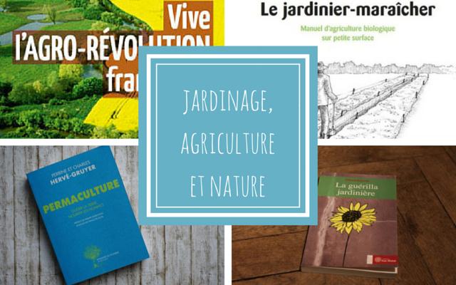 Livres écologie agriculture jardinage
