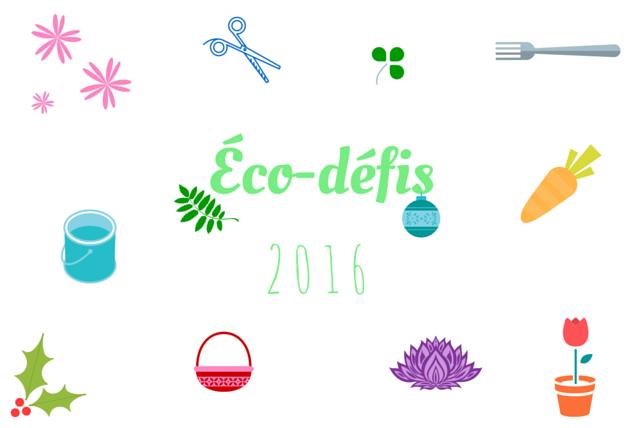 Éco-défis 2016 echosverts.com