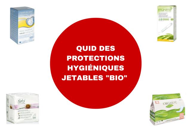 Protections hygiéniques jetables bio