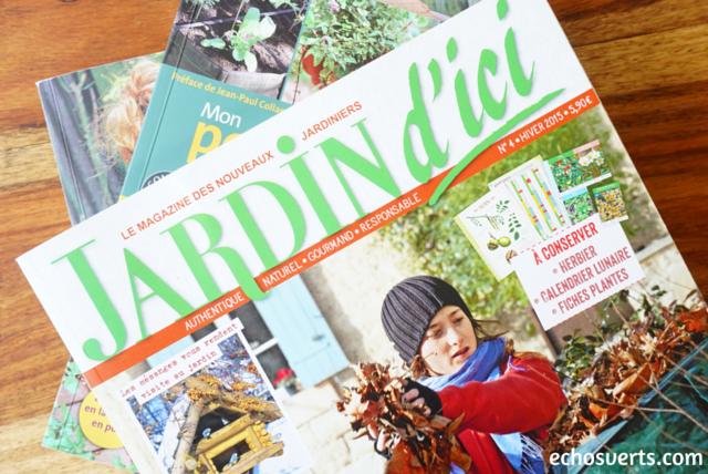 Jardin D'ici magazine echosverts.com