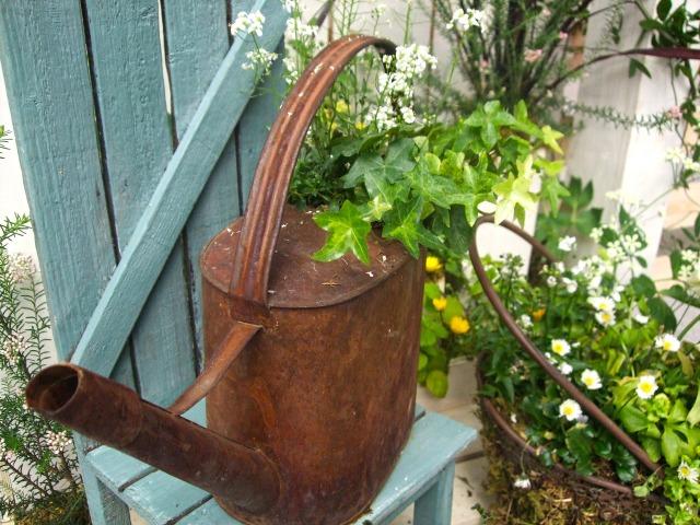 contenant jardinage récup
