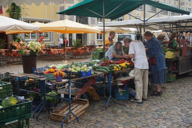 Marché de Freiburg crédit photo echosverts.com