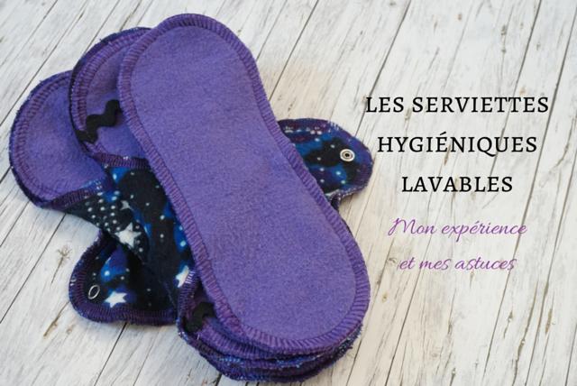 Serviettes hygiéniques lavables zéro déchet echosverts.com