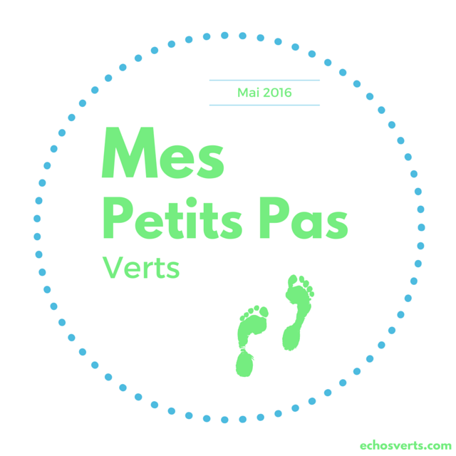 Mes petits pas verts mai 2016 echosverts.com