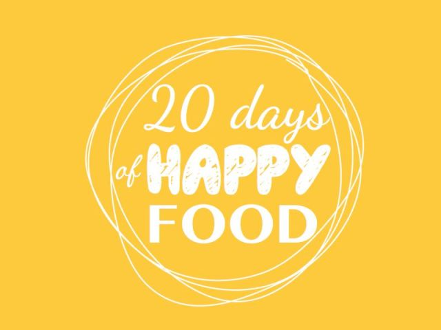 logo_20_days_of_happy_food_jaune