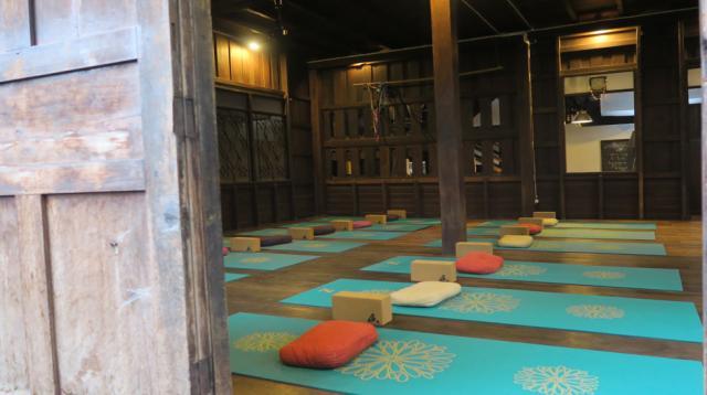 Yoga salle
