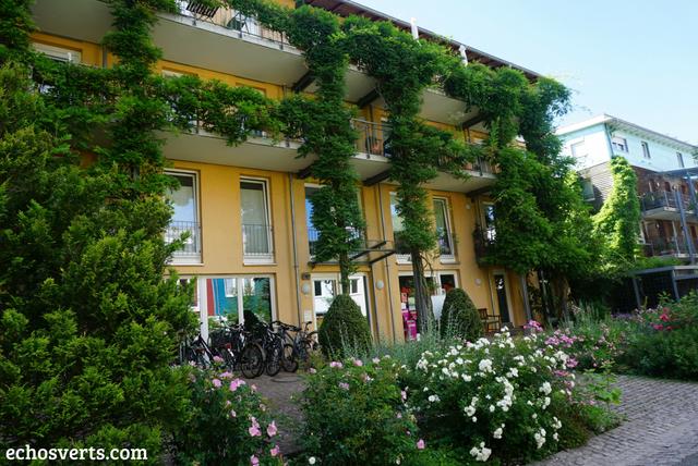 Quartier écolo Vauban Freiburg Allemagne echosverts.com