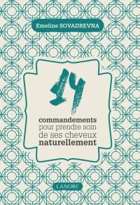 livre-14-commandements pour de beaux cheveux