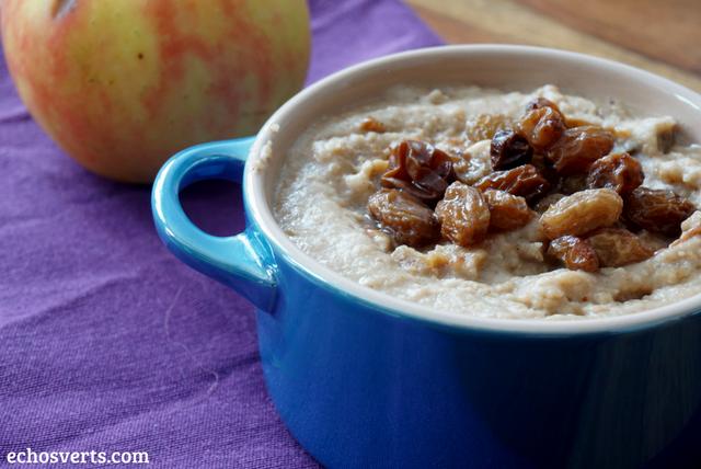 Porridge avoine vegane echosverts.com
