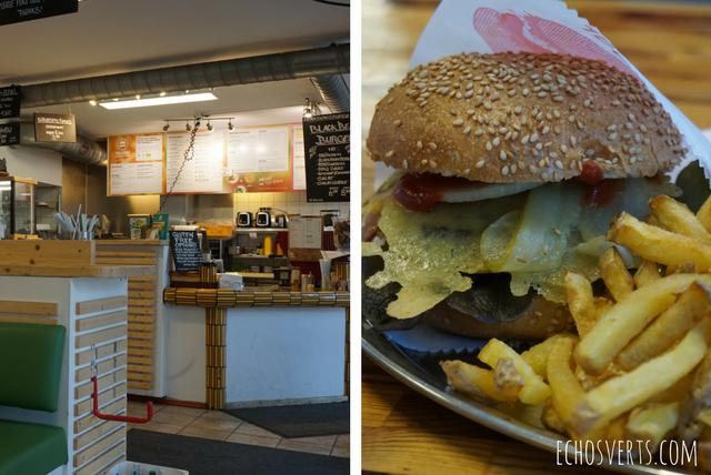 Yellow sunshine veggie burger berlin